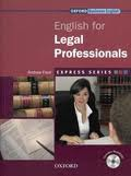 English for Legal Professionals (Express Series)