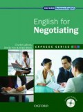 English for Negotiating (Express Series)