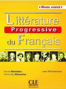 Littérature progressive du français- Avancé - Livre