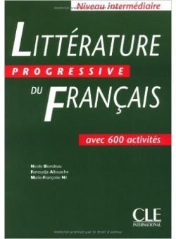 Litterature progressive du francais - Intermediaire - Livre