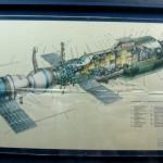 Макет станции Салют